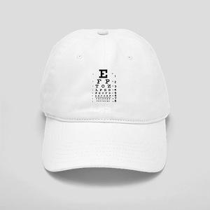 Eye chart gift Cap