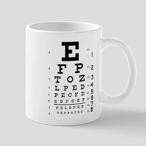 Eye chart gift Mug