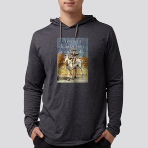 You Are A King - Cervantes Mens Hooded Shirt