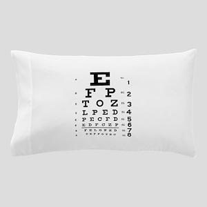 Eye chart gift Pillow Case