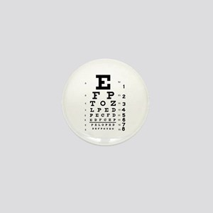 Eye chart gift Mini Button