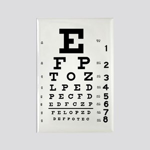 Eye chart gift Rectangle Magnet