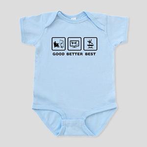 Gymnastic Pommel Horse Infant Bodysuit