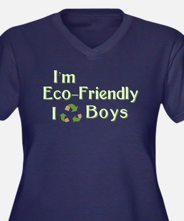 I Recycle Boys Plus Size T-Shirt