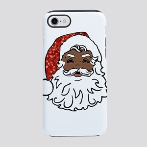 black santa claus iPhone 7 Tough Case