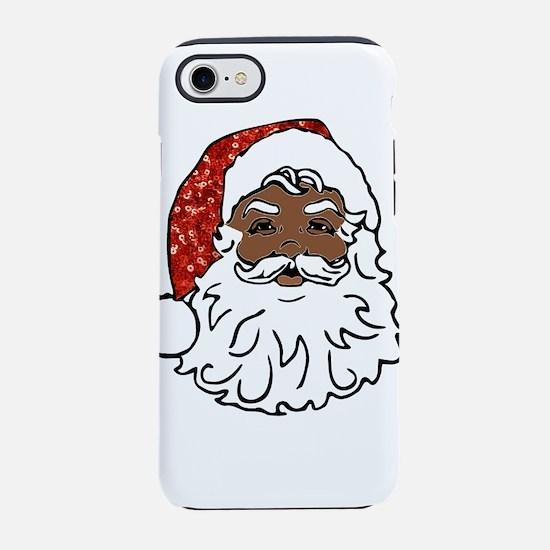 black santa claus iPhone 7 Tough Case