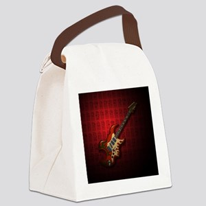 KuuMa Guitar 01 (R) Canvas Lunch Bag