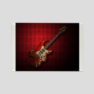 KuuMa Guitar 01 (R) Rectangle Magnet