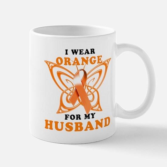 I Wear Orange for my Husband Mug
