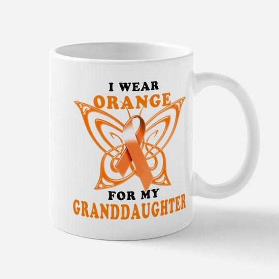 I Wear Orange for my Granddaughter Mug