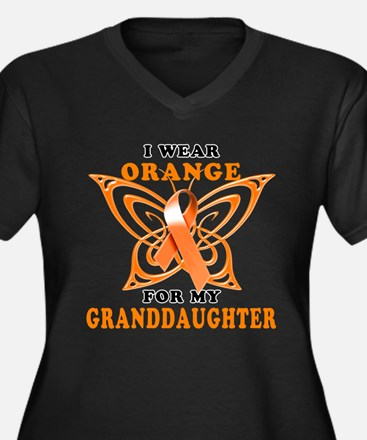 I Wear Orange for my Granddaughter Plus Size T-Shi