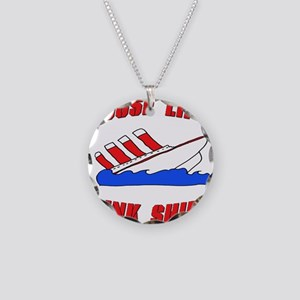Loose Lips Sink Ships Necklace