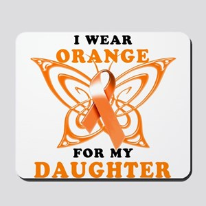 I Wear Orange for my Daughter Mousepad