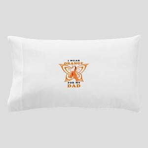 I Wear Orange for my Dad Pillow Case
