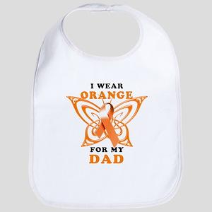 I Wear Orange for my Dad Bib