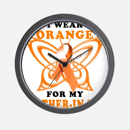I Wear Orange for my Brother in Law Wall Clock