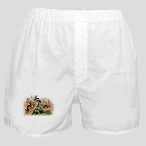 Victorian Cats Boxer Shorts