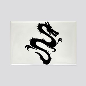Chinese Zodiac Dragon Rectangle Magnet (10 pack)