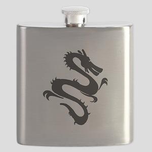 Chinese Zodiac Dragon Flask