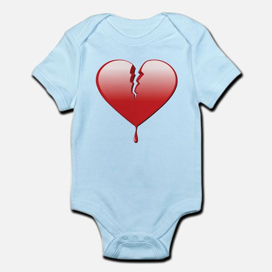 Broken Heart Infant Bodysuit