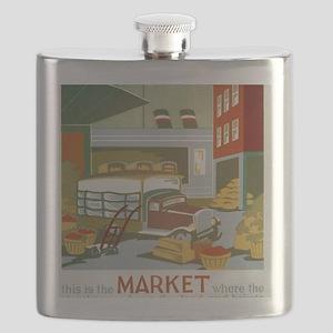 Market Flask