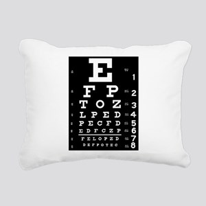 Eye chart gift Rectangular Canvas Pillow