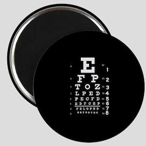 Eye chart gift Magnet