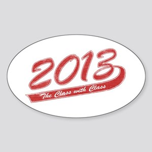 The Class with Class Sticker