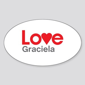 I Love Graciela Sticker
