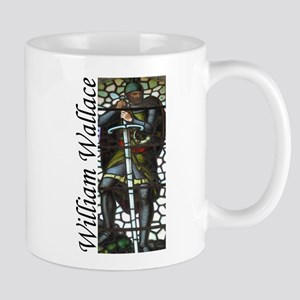 """""""William Wallace Stained Glass"""" Mug"""