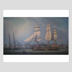 Wharves of Boston Posters