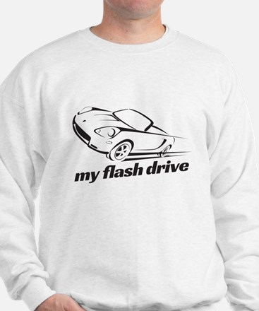 my flash drive Sweatshirt