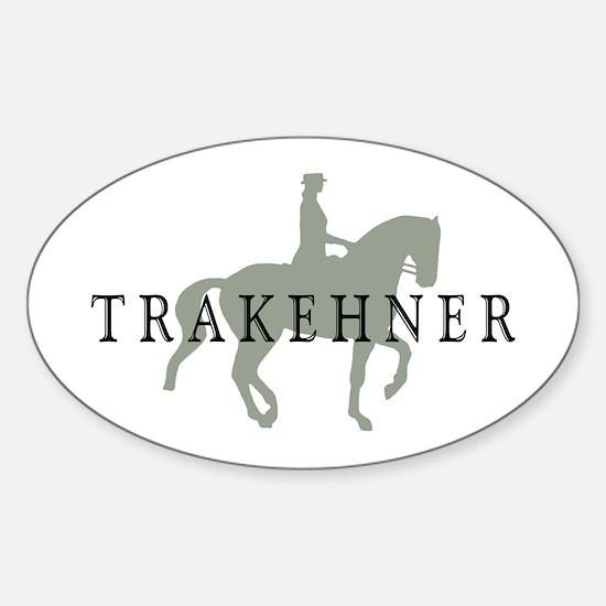 Piaffe - Trakehner Oval Decal