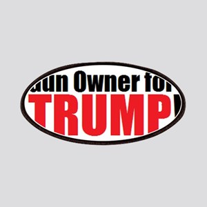 Gun Owner for TRUMP! Patch