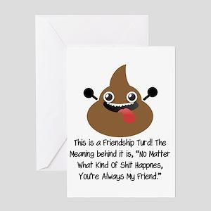 Friendship Turd Greeting Card