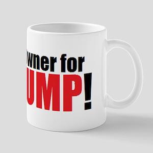 Gun Owner for TRUMP! 11 oz Ceramic Mug