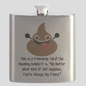 Friendship Turd Flask
