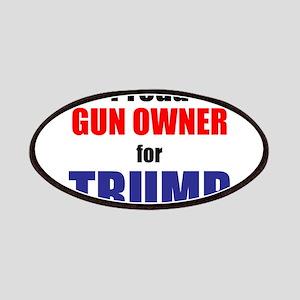 Proud Gun Owner for TRUMP Patch