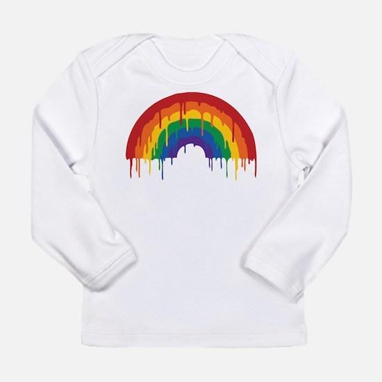 Rainbow Long Sleeve Infant T-Shirt