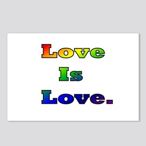 Love is Love. Postcards (Package of 8)