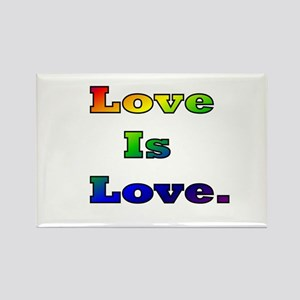 Love is Love. Rectangle Magnet