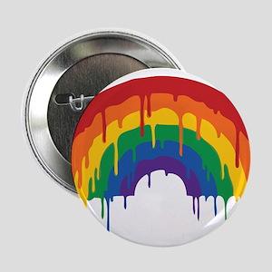 """Rainbow 2.25"""" Button"""