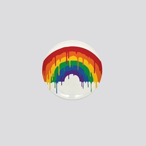 Rainbow Mini Button