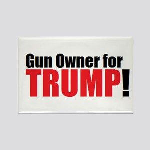 Gun Owner for TRUMP! Magnets