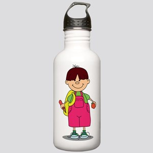 First Day Water Bottle