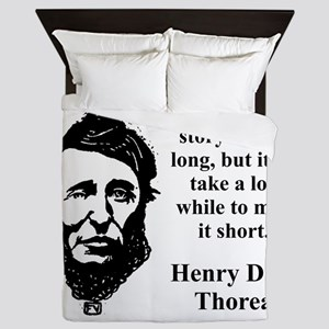 Not That The Story Need Be Long - Thoreau Queen Du