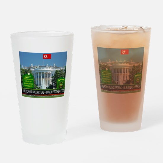 MUSLIM BROTHERHOOD Drinking Glass