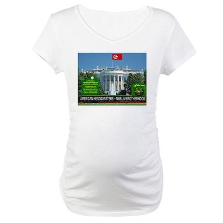 MUSLIM BROTHERHOOD Maternity T-Shirt