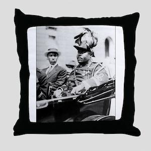 Marcus Garvey Throw Pillow
