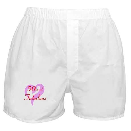 50 and Fabulous Boxer Shorts